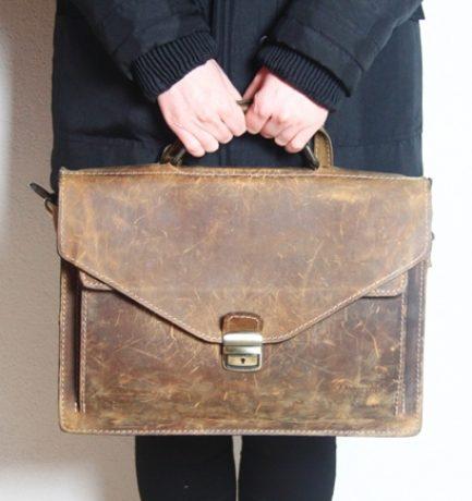 MONARCHY leather bag