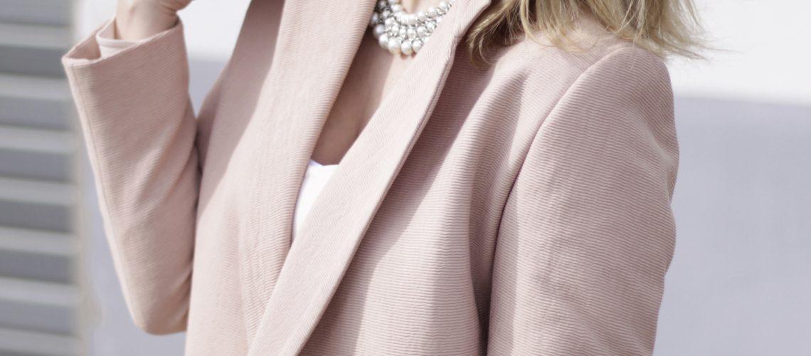 All in Rosé | Trend: Blazermantel