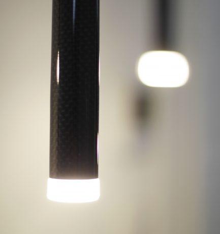 Leuchtendesign aus Carbon