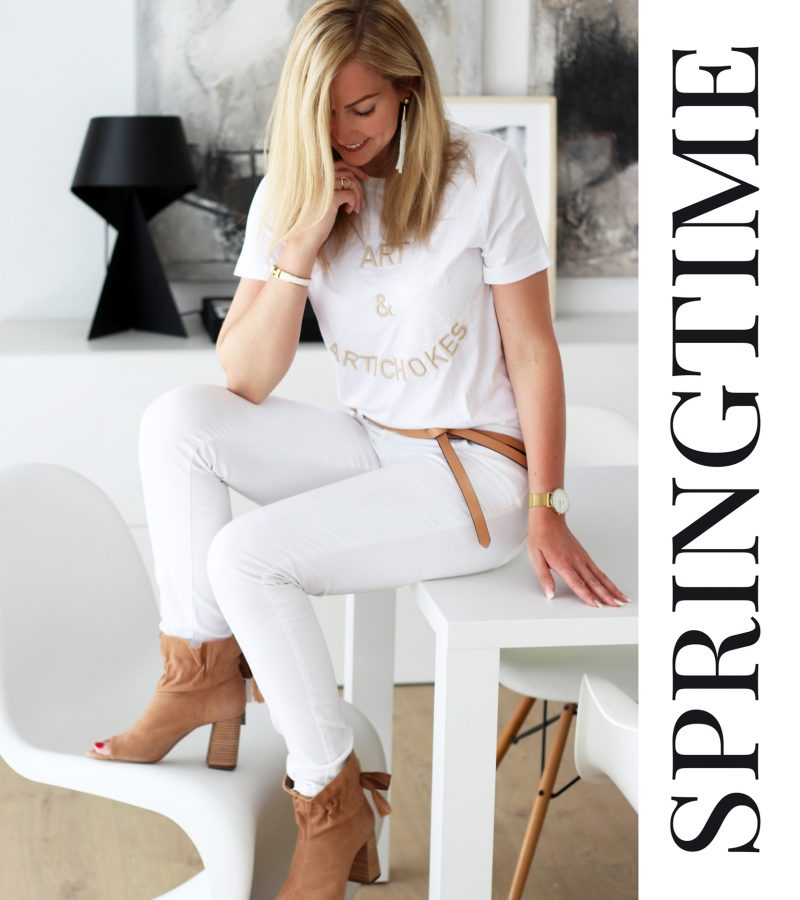 Springtime |  Helle Nuancen & ganz viel Weiß!