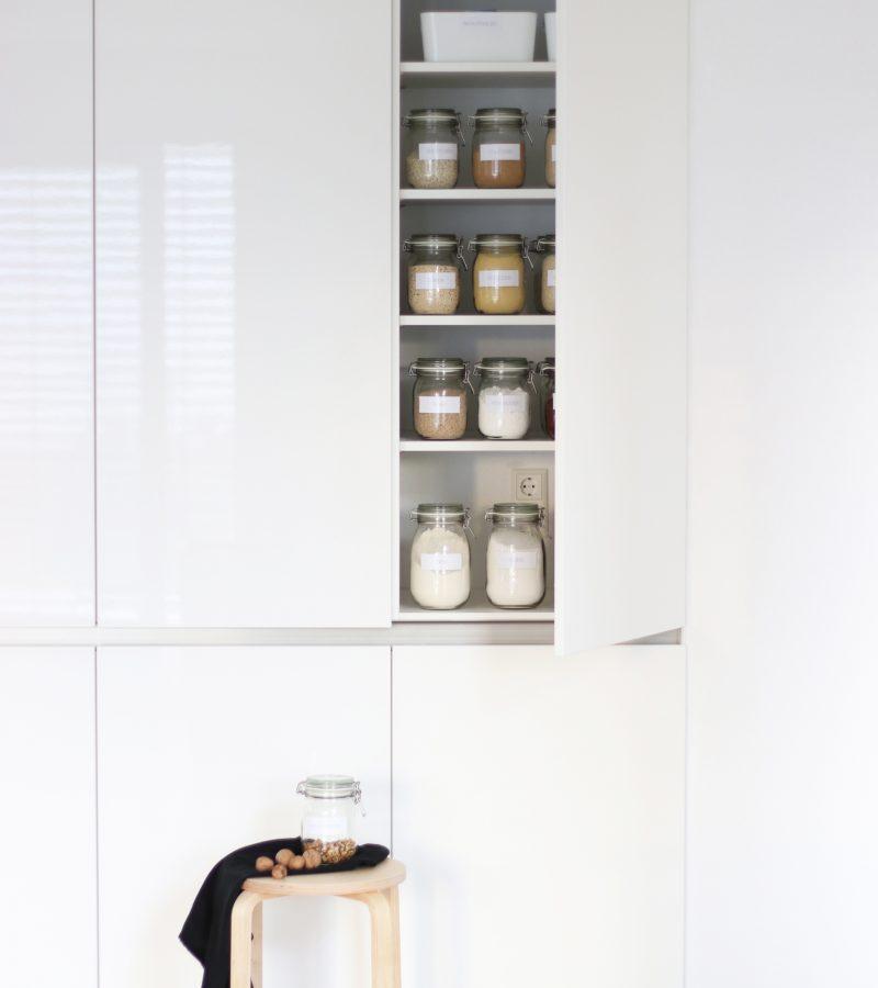 Vorratshaltung mit Chic | Ordnung im Küchenschrank