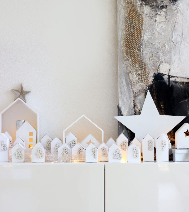 Häuschen mit ganz viel Liebe | Mein DIY-Adventskalender