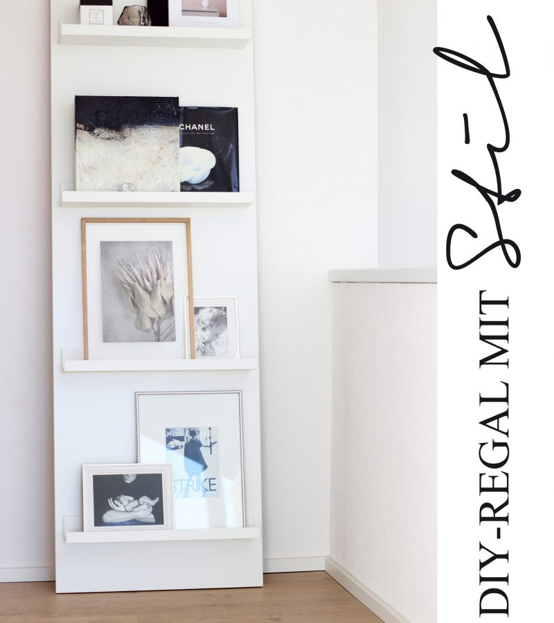 DIY-Regal mit Stil