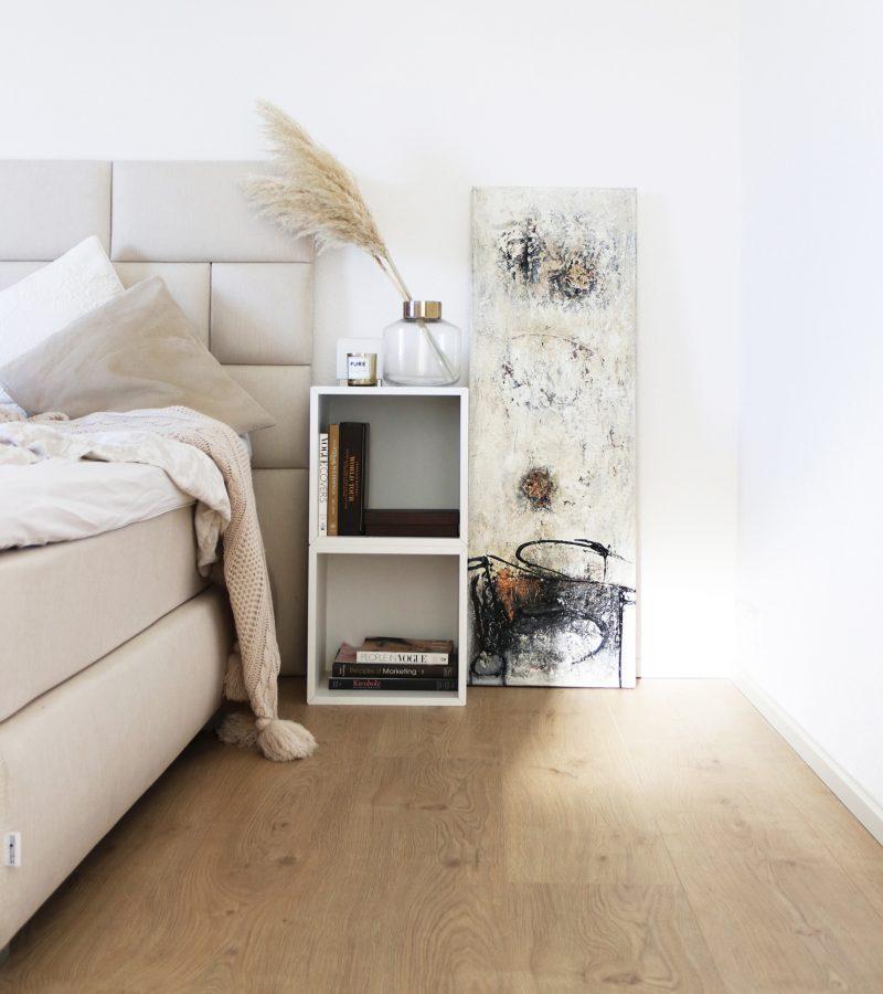 Schlafzimmer Update    natural colour scheme