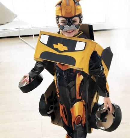 Kinderfasching – DIY | Transformer Bumblebee in Action!