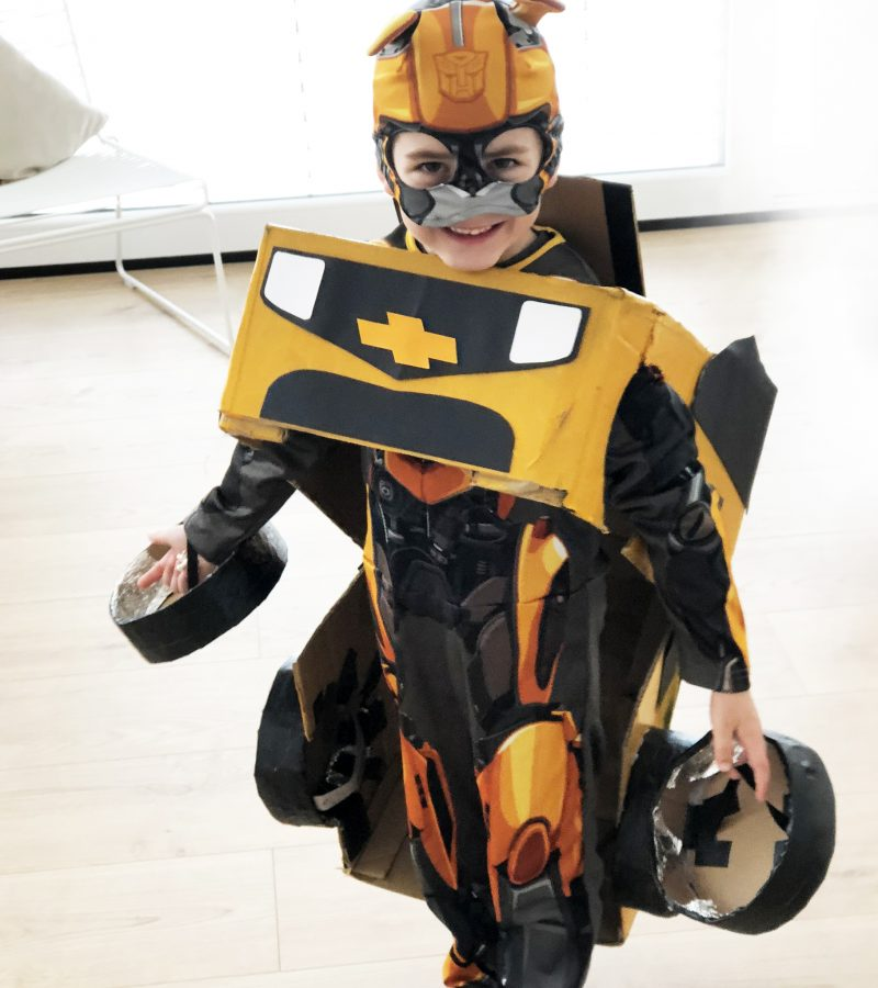 Kinderfasching – DIY | Transformer Bumblebee in Action!