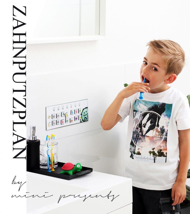 Ein Monster-Spaß beim Zähneputzen mit dem Zahnputzplan von mini-presents