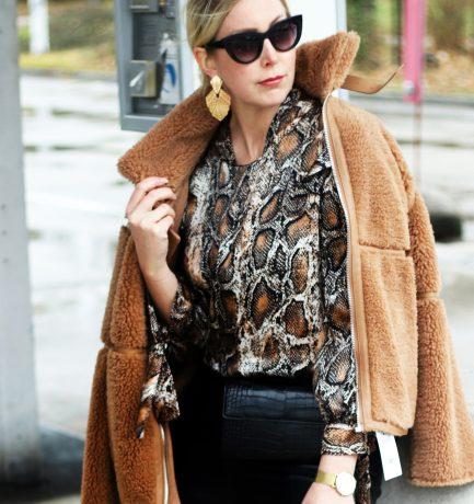 OOTD mit Style    Lederleggins, Boots & Co.