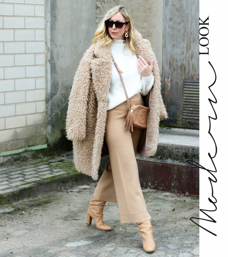 Modern Look   Stilvoll gekleidet durch den Winter