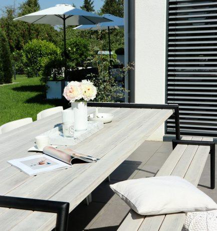 Formschöne Ästhetik   Outdoor-Esszimmer mit Stil