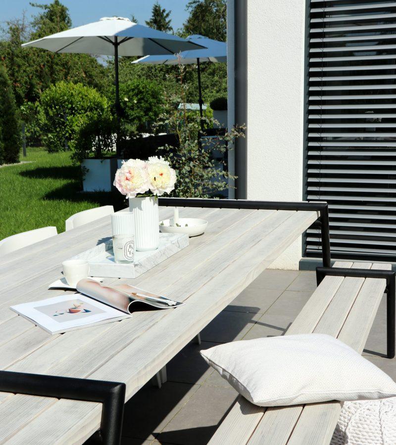 Formschöne Ästhetik | Outdoor-Esszimmer mit Stil