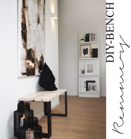 DIY Bench mit Remmers