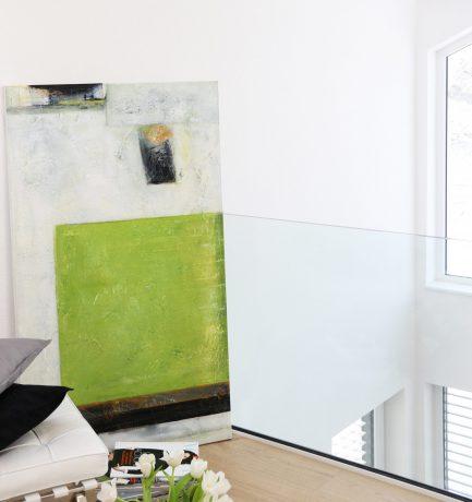 Strahlendes Grün | Farbgewaltige Gemälde