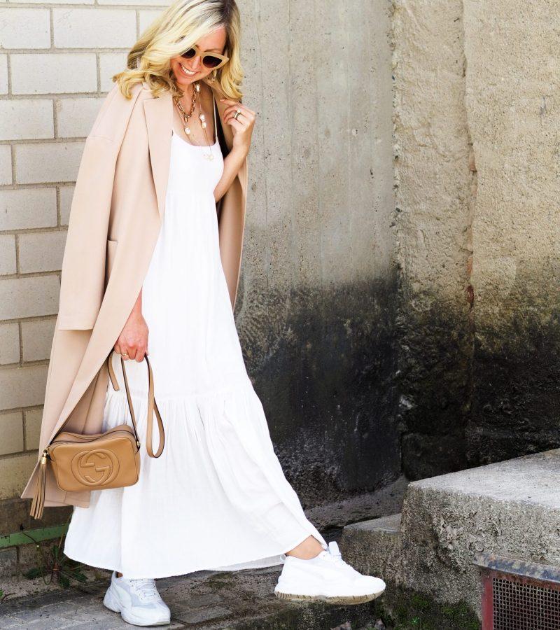 Schick, stylisch & frisch | Weiße Maxikleider