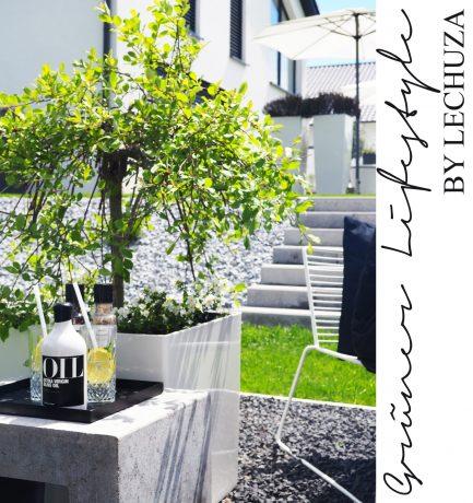 Grüner Lifestyle by Lechuza: Stilvoller Grillbereich im Freien