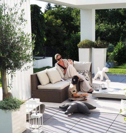 Sommerfeeling im Garten | Loungebereich by CO33